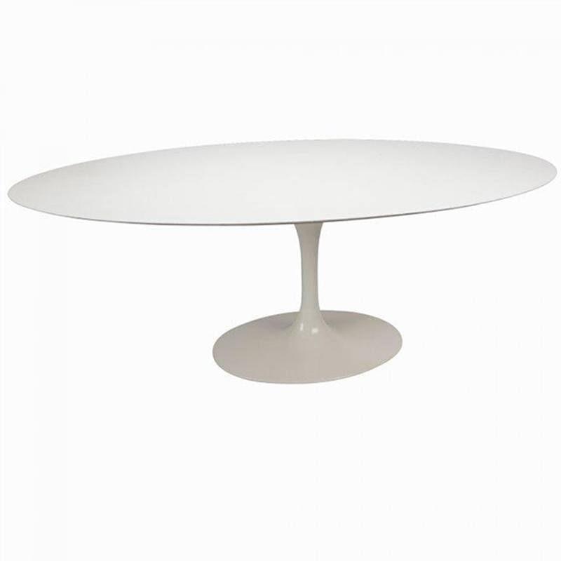 Mesa de Centro Saarinen Oval 137x90 cm Madeira