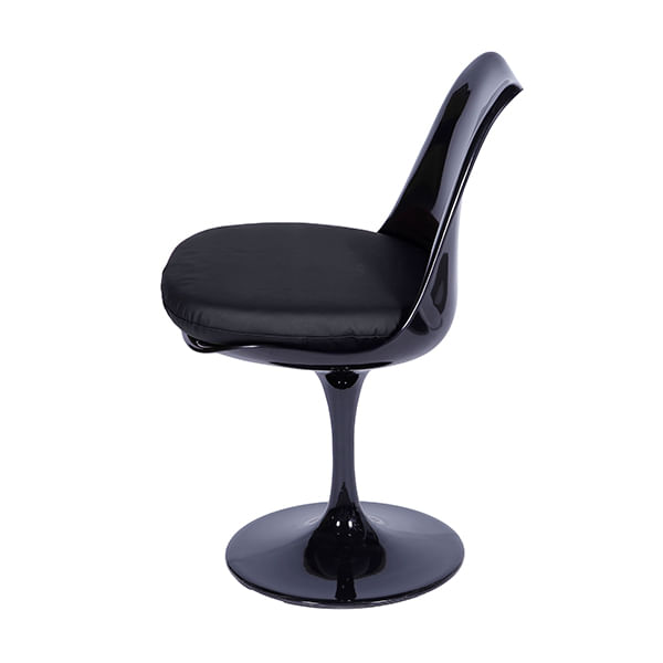 Cadeira Tulipa Saarinen Preta
