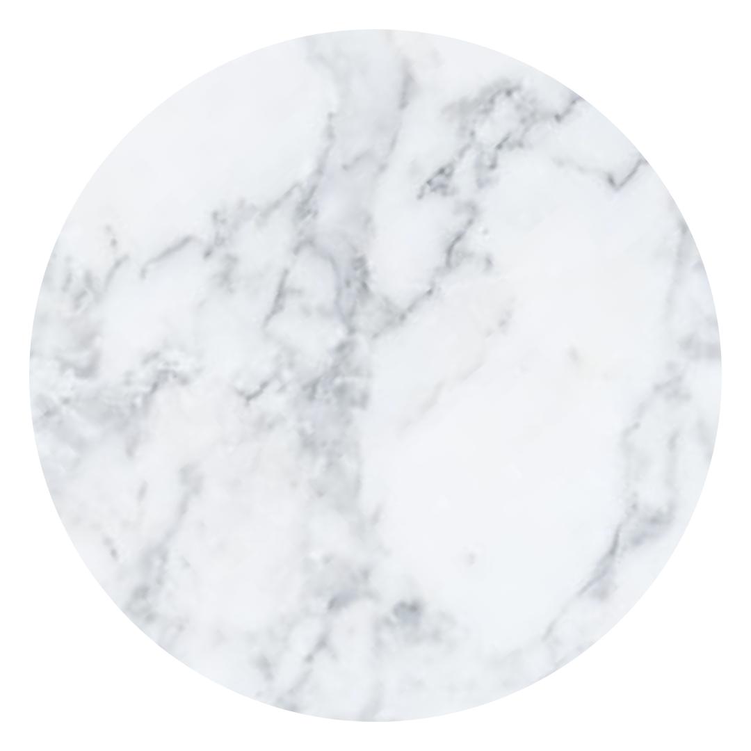 Mesa De Jantar Tulipa Saarinen Oval 137x90 cm Mármore Carrara
