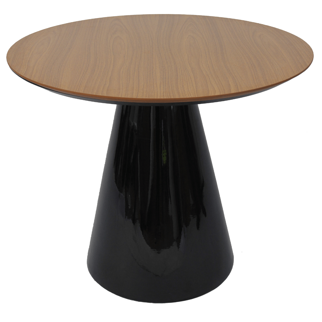 Mesa de Jantar Cone 120 cm Laca Preta