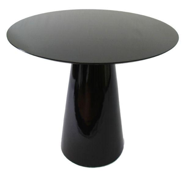 Mesa De Jantar Cone 100 cm Base Preta